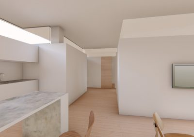 Diseño 3D Entrada Cohousing
