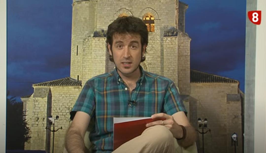 Entrevista para TV Palencia sobre el Proyecto Jardín de las Angélicas