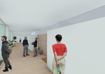 Diseño 3D Espacios Cohousing