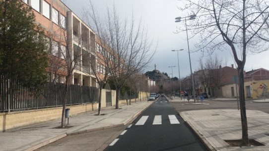 Ubicación Proyecto Cohousing Palencia